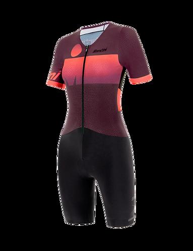 Santini Ironman AUDAX 2019 - AERO TRISUIT WOMAN - Triatlonos egyberuha Női