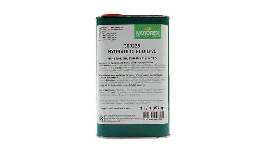 Motorex HYDRAULIC FLUID ásványi olaj fékhez 75 1 liter