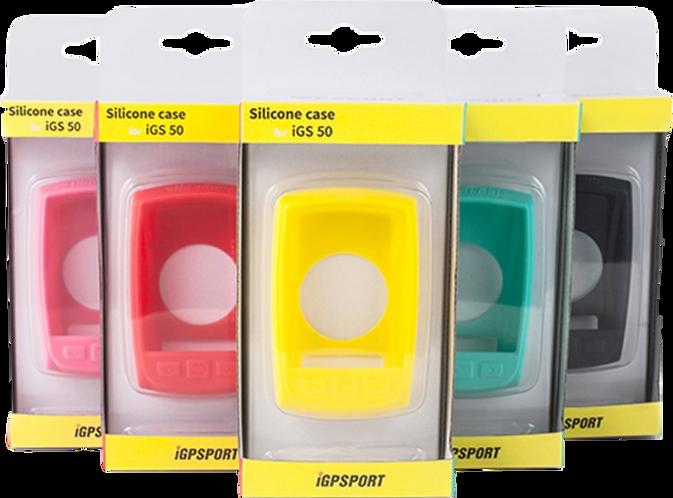 iGPSPORT iGS50E Skin case - Gumi védőtok