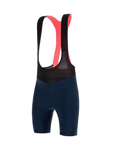Santini REDUX FORTUNA - Kerékpáros kantáros nadrág kék