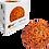 Thumbnail: Blackroll orange Roller blackBALL 8cm - Fascia-golyó 8cm