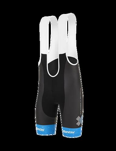 Santini TREK TEAM CXC 2020 - BIBSHORT - Kerékpáros cyclocross nadrág