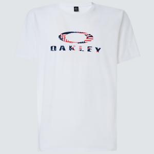 OAKLEY USA Flag Ellipse Short Sleeve Tee white - Póló