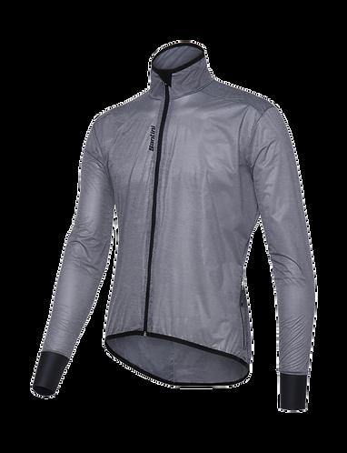 Santini Scudo Windbreaker Jacket Grey - Szélálló kerékpáros kabát