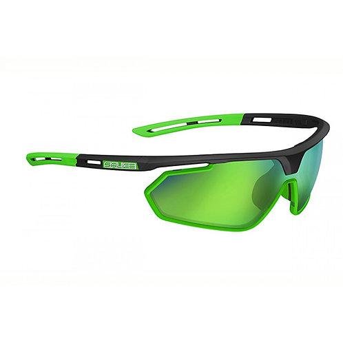 SALICE 018 RW Fekete-Zöld napszemüveg