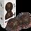 Thumbnail: Blackroll TWINBALL-orange 12cm - dupla, pontszerű fasciamasszázs