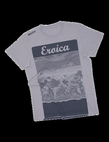 Santini Eroica EPOCA - T-SHIRT GREY - Póló