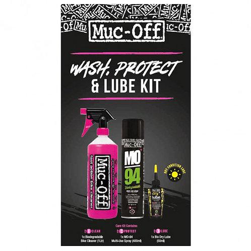 Muc-Off Tisztító-Ápoló-Olajzó Dry ( Száraz ) Készlet