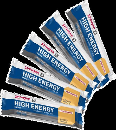Sponser High Energy Bar 45gr - Energia szelet