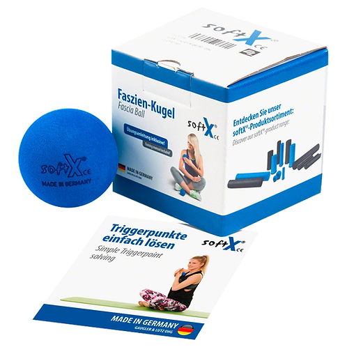 softX® fascia ball 9cm - Fascia-golyó / kék