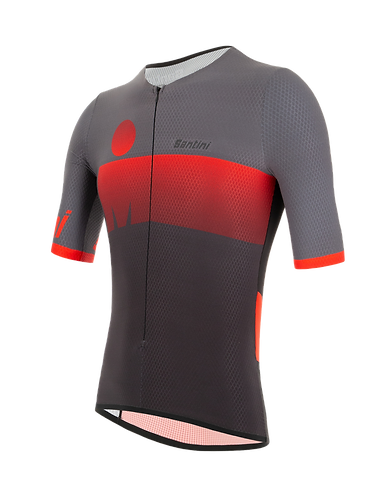 AUDAX 2019 - AERO SHORT SLEEVE TRI TOP - Triatlonos mez