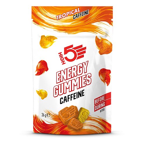 High5 Energy Gummies Caffeine Tropical 26g (6db)