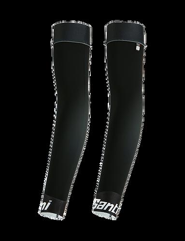 Santini MID - ARM-WARMERS BLACK - Kerékpáros karmelegítő