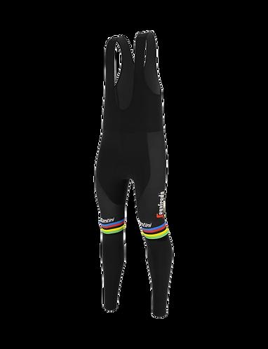 Santini TREK-SEGAFREDO 2020 - BIB-TIGHTS WORLD CHAMPION - Kerékpáros nadrág