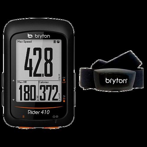 Bryton Rider 410 HR  - Kerékpáros óra