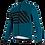 Thumbnail: Santini SVOLTA - JACKET PETROLEUM - Kerékpáros kabát