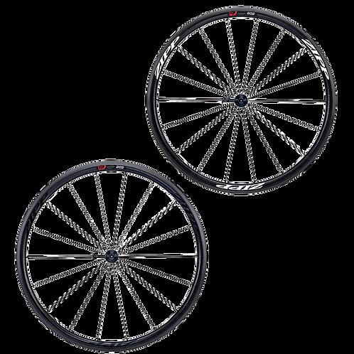 Zipp 202 firecrest carbon clincher front wheel - Első kerék, peremes