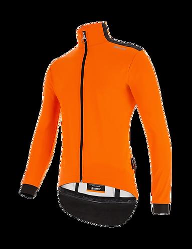 Santini VEGA MULTI - JACKET ORANGE - Kerékpáros kabát.