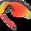 Thumbnail: OAKLEY M2 Frame XL Snapback Navy / PRIZM Ruby lens - Sportszemüveg