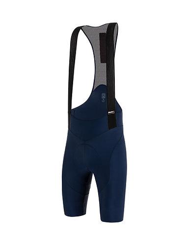 Santini TONO PURO - Kerékpáros kantáros nadrág kék
