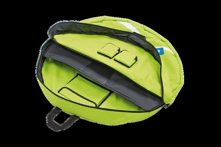 B&W Double Wheel Guard L Green - Kerék szállító táska Dupla