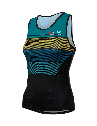 Santini SLEEK 775 2019 - TRI TOP WOMEN WATER - Női Tri felső