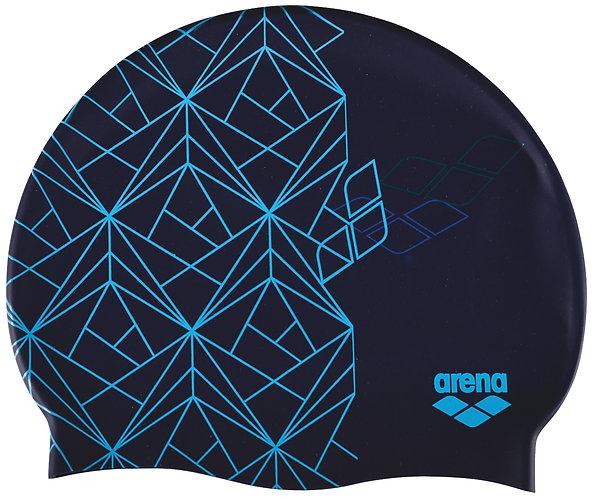 Arena print 2 kék úszósapka