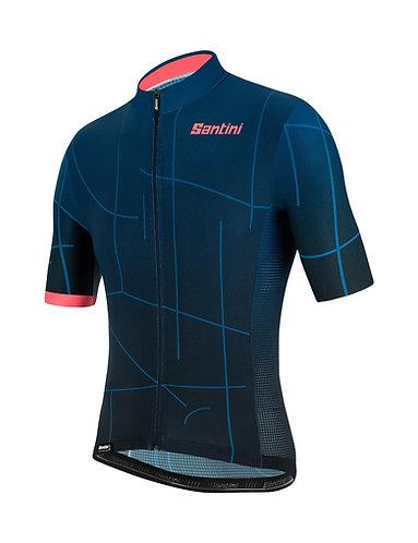Santini TONO PURO - Kerékpáros mez kék