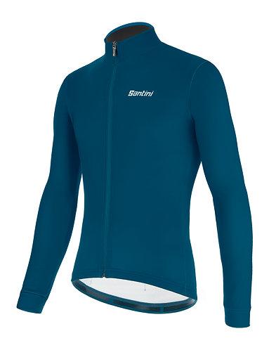 Santini colore jersey - Kerékpáros felső petróleumzöld