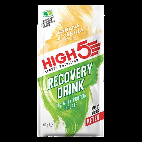 High5 Recovery Drink Banán/Vanilia 60 g