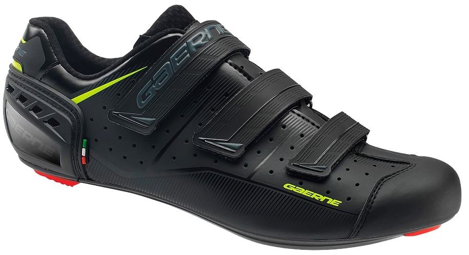Gaerne Record Black shoes - országuti cipő