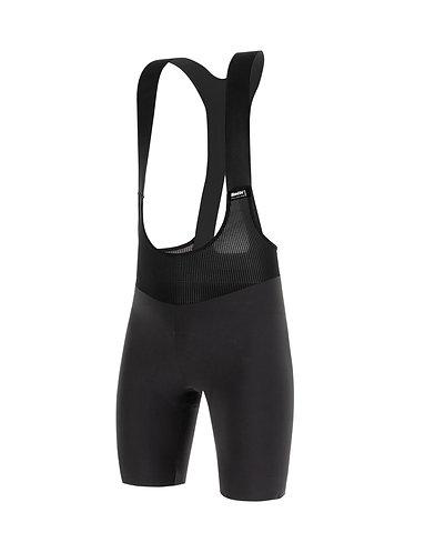 Santini REDUX FORTUNA - Kerékpáros kantáros nadrág fekete