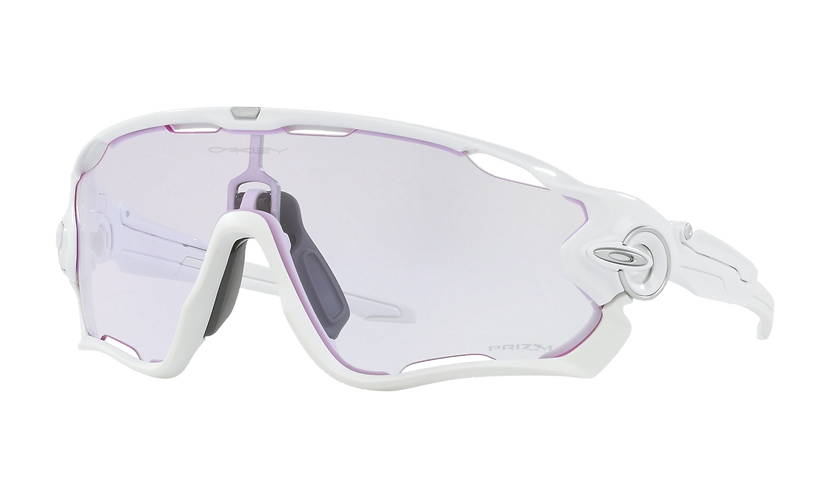 OAKLEY Jawbreaker Polished White with PRIZM Low Light