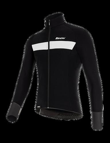 Santini VEGA H20 - JACKET BLACK - Kerékpáros kabát.