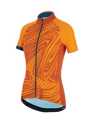Santini GIADA POP - Női kerékpáros mez sárga