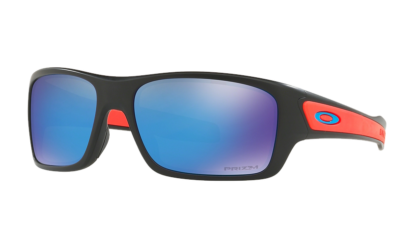 OAKLEY Turbine XS Matte Black / Prizm Sapphire - sportszemüveg