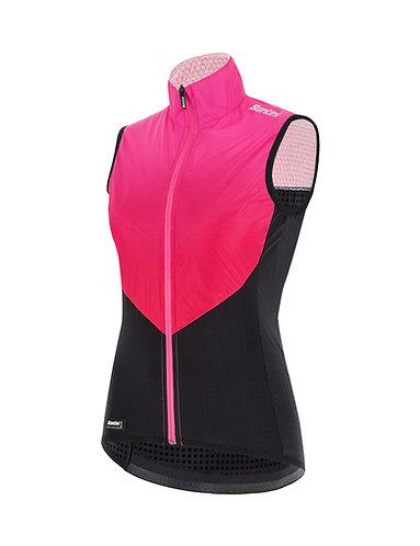 Santini REDUX GENIO - Női kerékpáros mellény pink