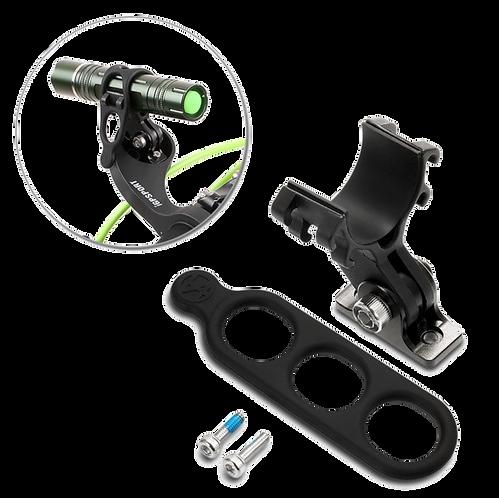 iGPSPORT S81 Front Bike Mount - Lámpa adapter iGPSPORT S80 kormányadapterhez.