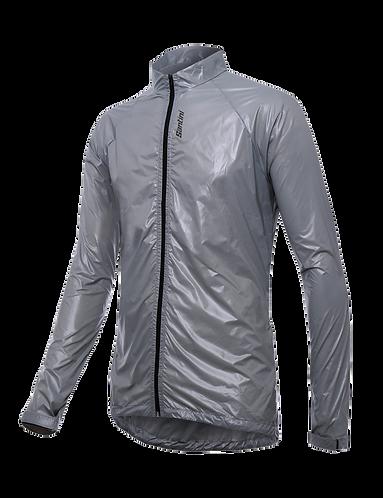 Santini MARZO - WINDBREAKER GREY - Szélálló kerékpáros kabát