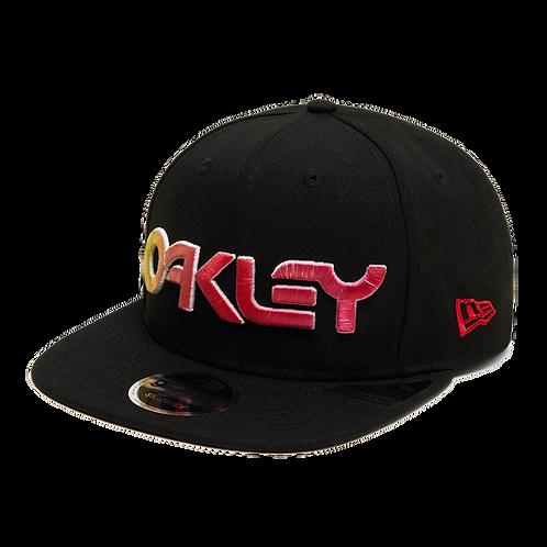 OAKLEY Oakley 6 PANEL GRADIENT HAT Black - Sapka