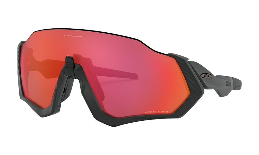 OAKLEY Flight Jacket Matte Black / PRIZM Trail Torch lens - Sportszemüveg