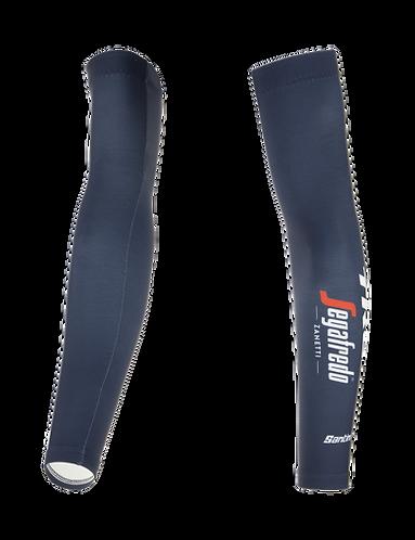 Santini TREK-SEGAFREDO 2021 - ARM WARMERS - Kerékpáros Karmelegítő