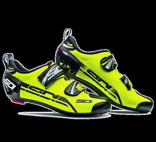 Sidi T-4 Air Carbon comp tri shoes Yellow - Black / cipő