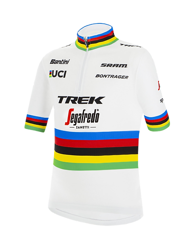 Santini TREK- SEGAFREDO 2020 - WORLD CHAMPION KID JERSEY - Gyerek mez