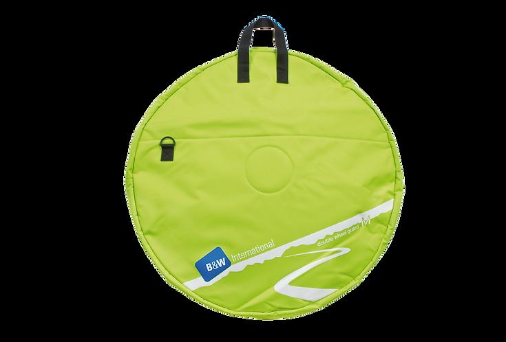 B&W Double Wheel Guard M Green - Kerék szállító táska Dupla