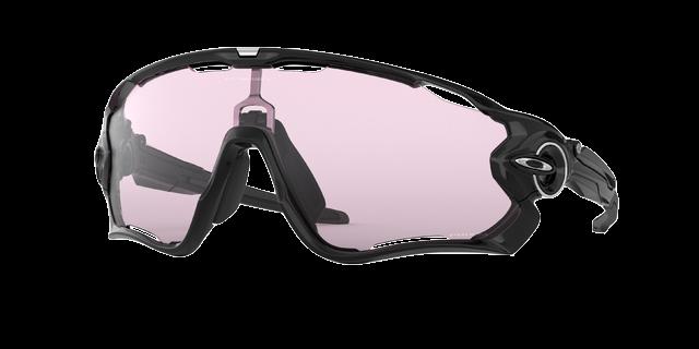 OAKLEY Jawbreaker Polished Black w PRIZM Low Light lens - Oakley Sportszemüveg