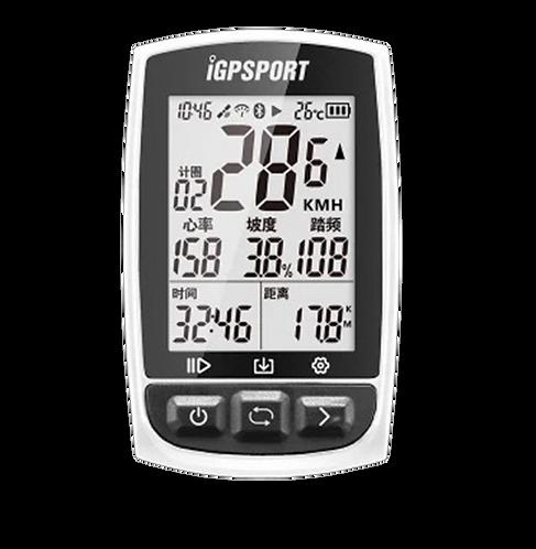 iGPSPORT IGS50E Wireless GPS Bike Computer White - Kerékpáros óra fehér