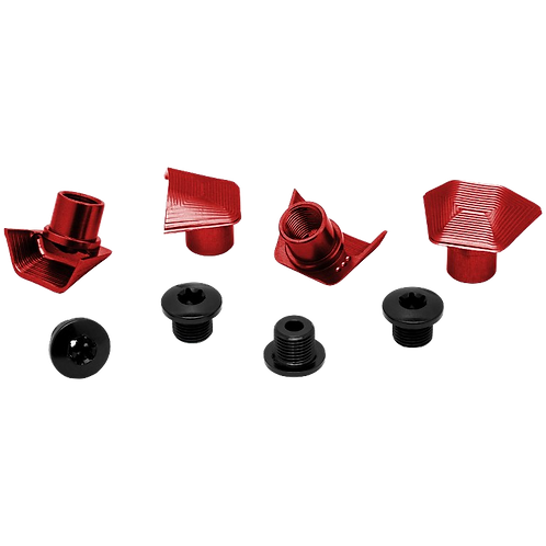 absoluteBLACK bolt&covers SH6800-9000 red - lánctányér csavar&takaró