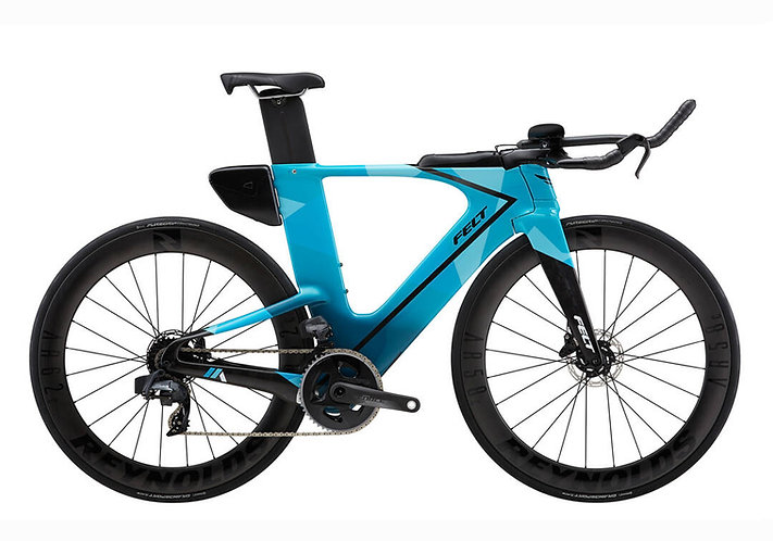 FELT 2021 IA ADVANCED FORCE ETAP AXS AQUA - Triatlon kerékpár
