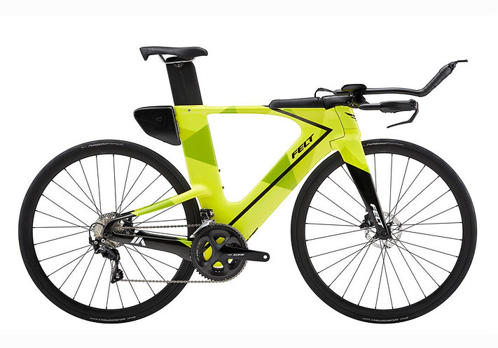 FELT 2021 IA ADVANCED 105 CHARTREUSE GEO - Triatlon kerékpár